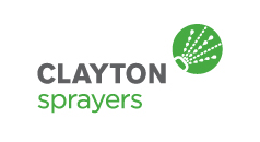Clayton Sprayers product range